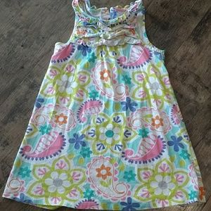 Carter's paisley and floral dress, size 6x